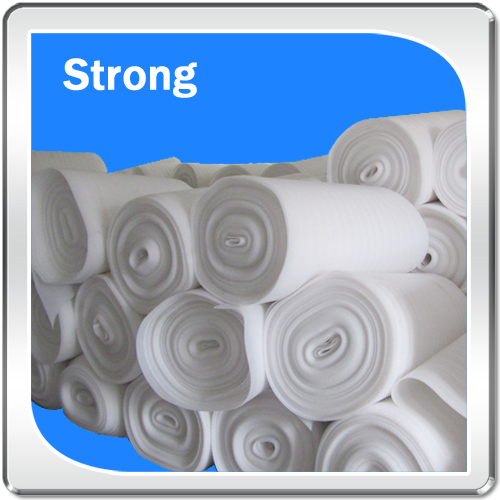 High-density custom thickness precison quality epe packing foam roll according to your drawing