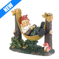 hand painted resin wholesale terracotta garden gnomes
