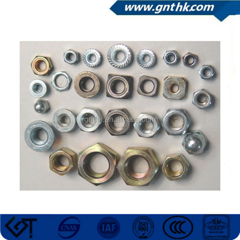 steel quick fastening nut