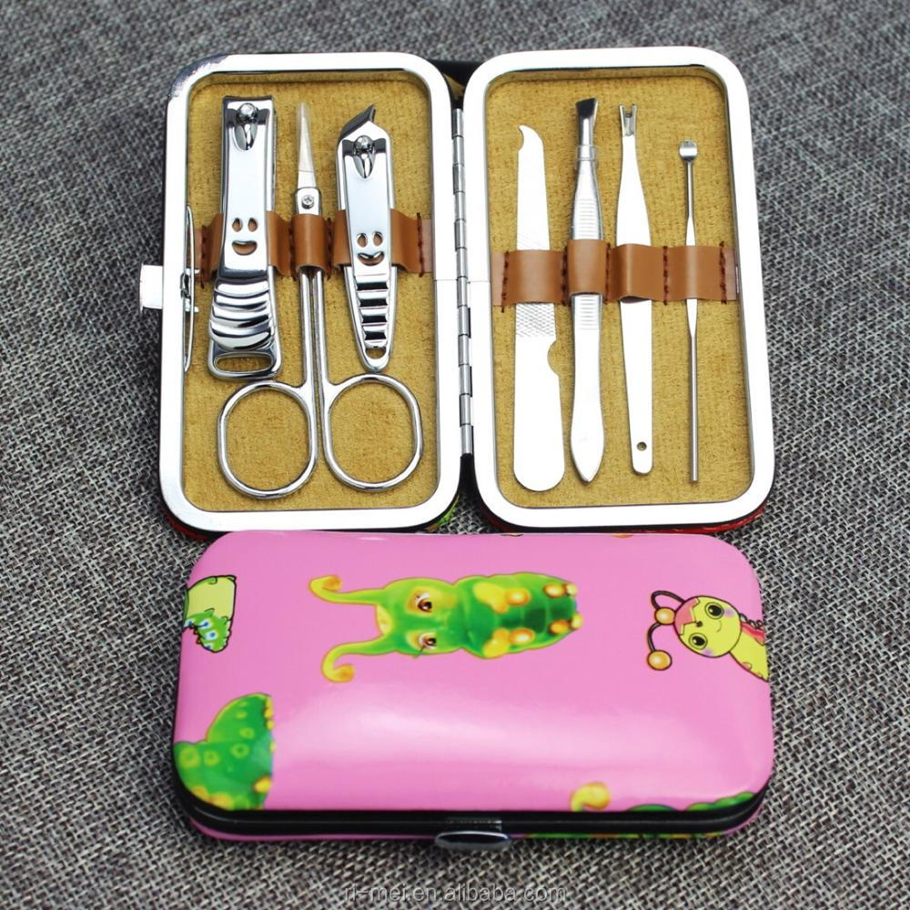 Professional Stainless Steel Nail Clipper Set Nail Tools Manicure & Pedicure Set