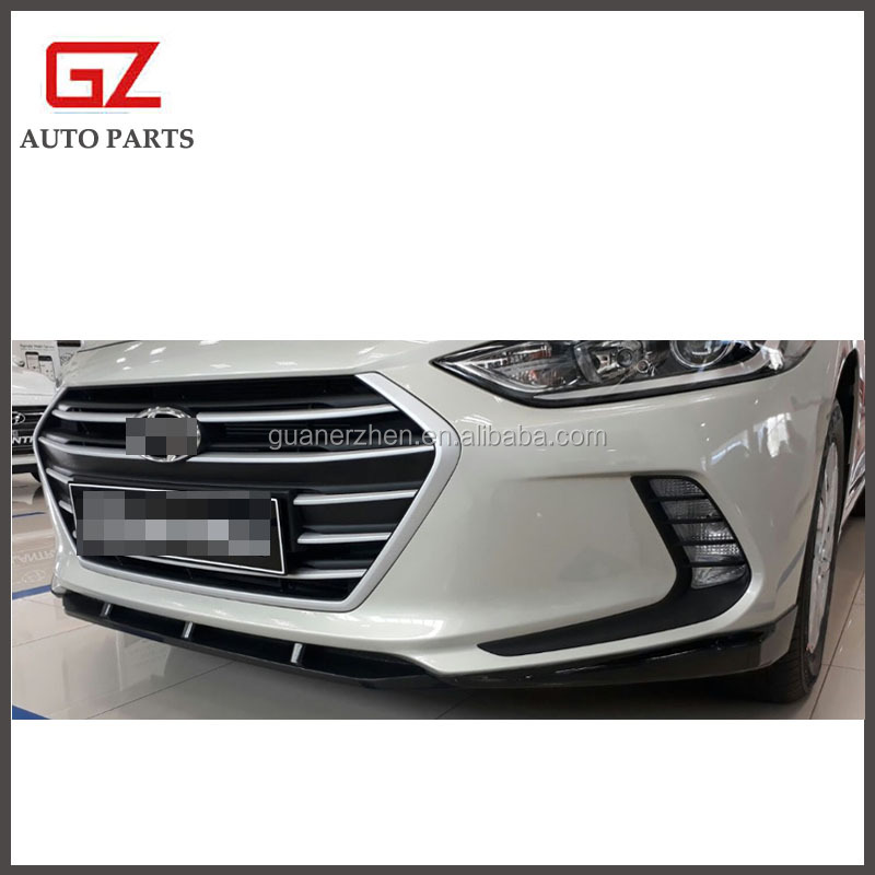 Front Lip Body Kit Bumper Skirt (Fits Hyundai 2017+ Elantra Avante AD)