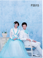 Hand Painted Muslin Photo Studio Background For Couple Wedding.