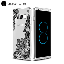 Hot sale UV print soft gel TPU case for samsung s8 case clear custom print phone cover