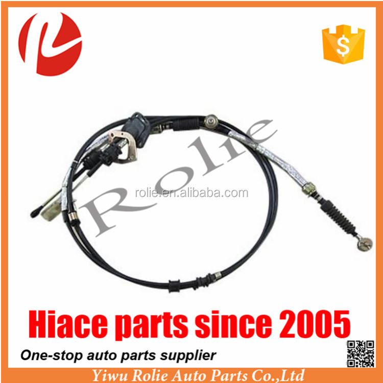 High Quality Jiulong Hiace 33820-26370 Shift Cable 4RB2 L186cm 236cm for Toyota Auto Parts