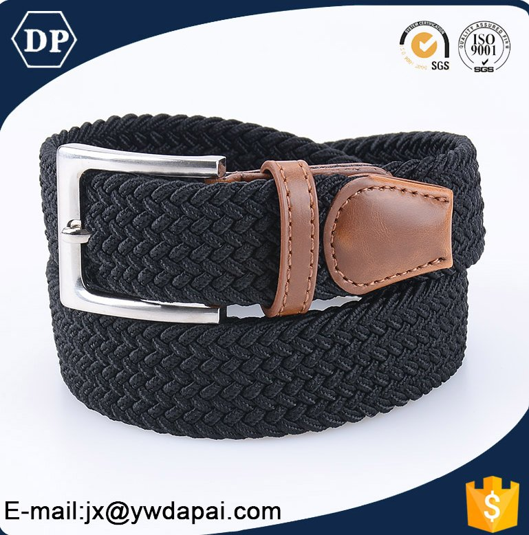 Custom High Quality Fabric Woven Waist Belt elastic belts braided belts