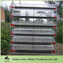 metal 6-tier a type quail cage for commercial quail