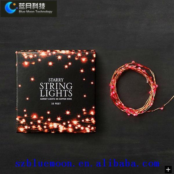 Unusual Christmas String Lights : 8m/80leds Unique Christmas Lights/led Copper Wire Lights/led Strings - Buy Unique Christmas ...