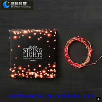 8m/80leds unique christmas lights/led copper wire lights/led strings