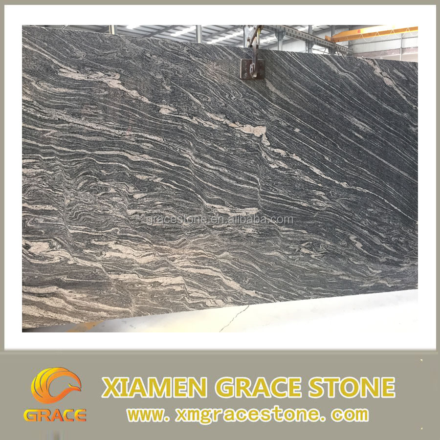 Cheap Chinese granite juparana natural tile big slab cut to size