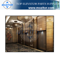 Brand new commercial elevator cost of luxury passenger lift