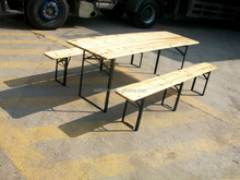 Wooden Folding Beer Table Set/Beer Table and Benches