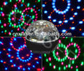 Wholesale new mini Voice control LED Stage light ,party ligh,Six color LED crystal magical ball light