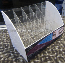 Acrylic clear cube makeup storage display organizer