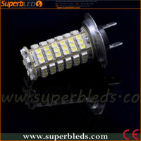 xenon white DC12V/24V 3528 SMD 120LEDS H4/H7 auto led headlight