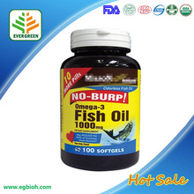 Supply GMP CertifiedSuperior Refined Fish oil & omega3 softgel