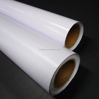 White/Black Glue and Transparent PVC Self Adhesive Vinyl Film for Printing Car Sticker