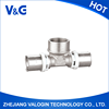 New design high quality cheap Brass T-joint Press Fitting F