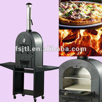 outdoor garden and balcony cook ware steak and pizza oven