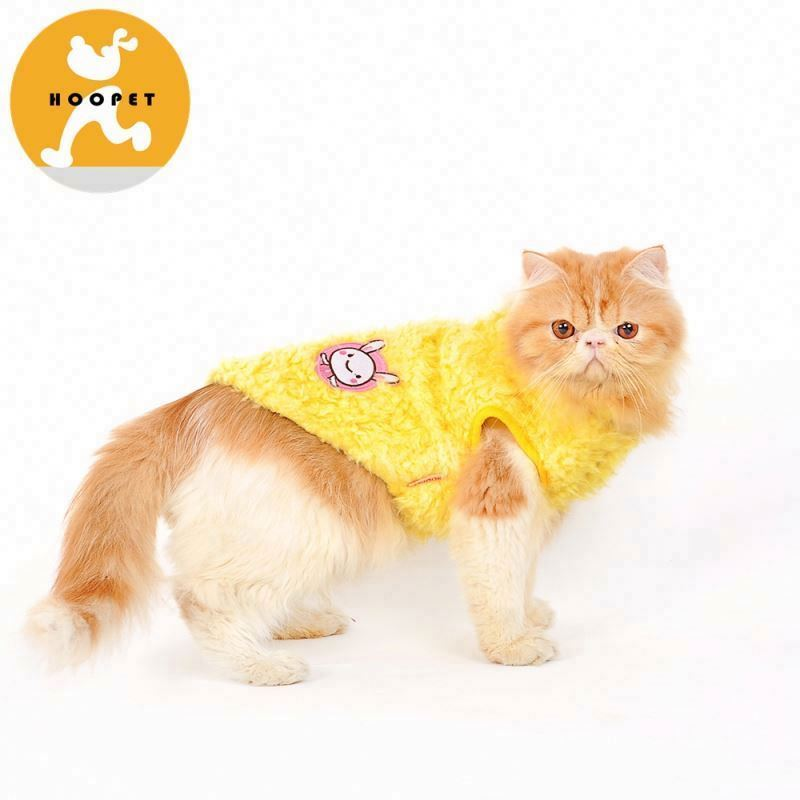 Multicolored stylish winter dog pet clothes