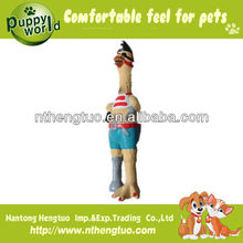 chicken shaped latex pet toy,squeaky chicken toy