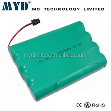 14.4v 1500mah rechargeable battery