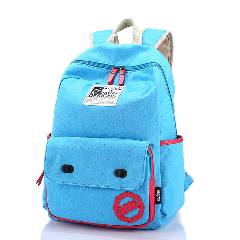 School bags 5 Colors Fashion Children School Bags Travel Backpack Creative Schoolbag For School Supplies Free Shipping 1513