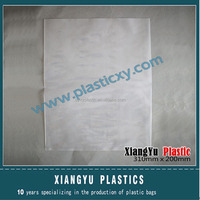 Clear LDPE poly bag for plain / flat bag