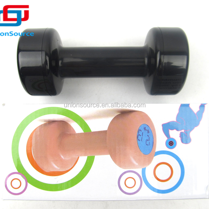 Dumbbell alarm clock Different color promotional Perfect quality dumbbell digital alarm clock