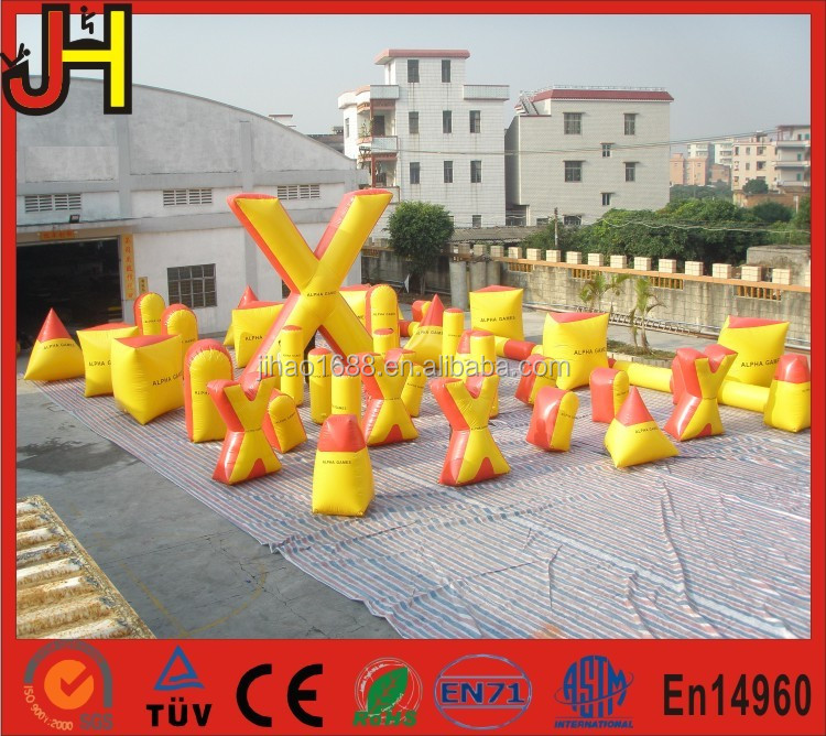 Customized Inflatable Panitball Bunker Arena for Archery Shooting Game