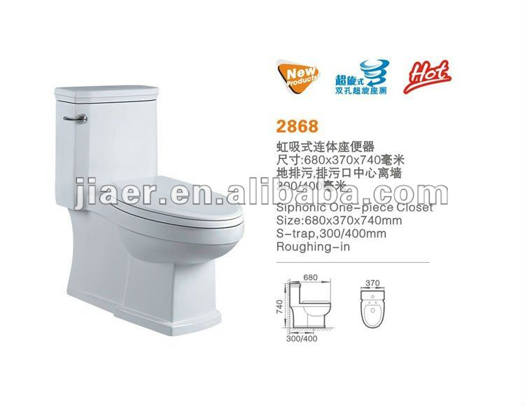Gold supplier square floor mounted wc one piece bathroom closestool ceramic toilet with low price