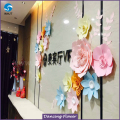 Professional Manufacture Cheap giant paper flowers for gift for wholesale