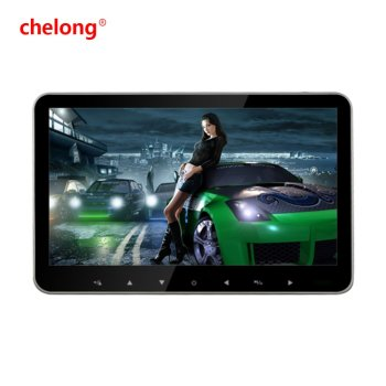 2016 new 10. 1 inch lcd monitor car monitor with TV/DVD player universal headrest monitor