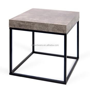 Factory Price Euro Style Metal Base Side Table, Coffee Table