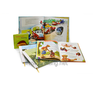 High Quality Printing Coloring English Children Story Books