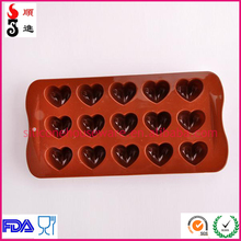 Silicone number shapes mold cookie mould 3d silicone cake molds