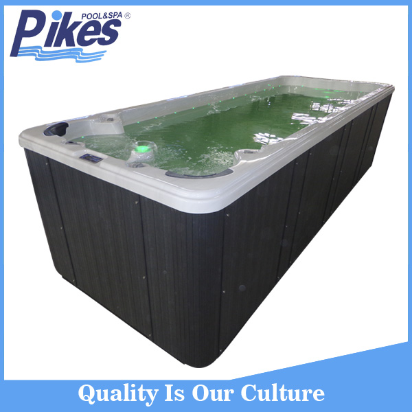 China Manufacture outdoor bathtub oval acrylic whirlpool spa hot tub