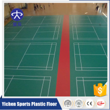 Portable Vinyl Indoor Sports Court Badminton Flooring Mat