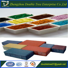 Factory iron oxide pigments for color concrete tile