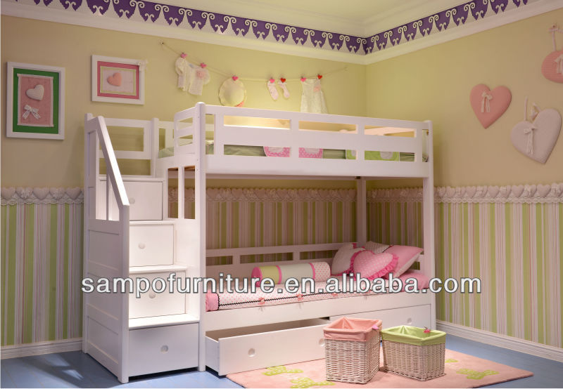 kids cartoon bed with storage#SP-C204A
