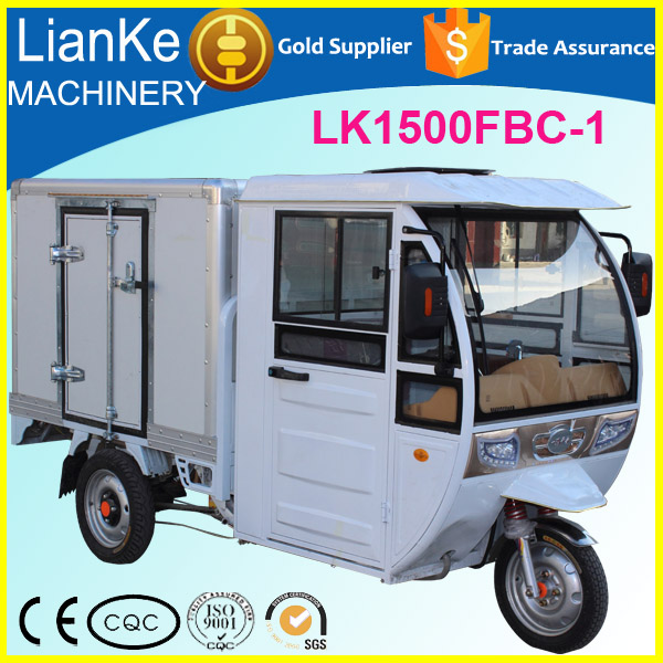 advertising electric driving tricycle for ice cream , bread, drinks/electric food delivery vehicle