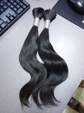 YFhair Factory Unwefted Bulk Virgin Hair For Braiding, Unprocessed Brazilian Remy Express Hair Bulk