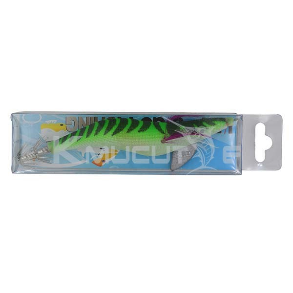 Chentilly CHS010 luminous squid jig 3.5# hook stainless steel fishing bait for salewater octopus