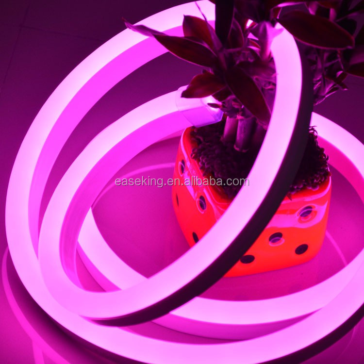CE FCC ROHS 14*26mm full color soft neon rainbow led rope
