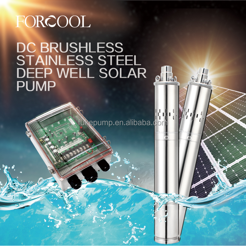new green powered centrifugal submersible dc solar water pump