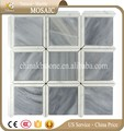 China manufacturer grey square mosaic