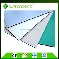 Greenbond cheap aluminum cladding for pipe material acp wall cladding