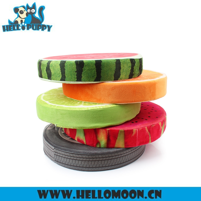 2017 New Arrival Fruit Shape Heated Outdoor Pet Bed
