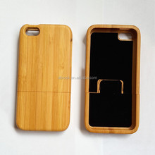 Natural handmade for iphone 5c wood bamboo case