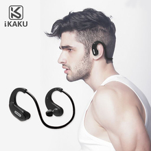 KAKU Professional high class mobile phone hands free power sport earphone with mic