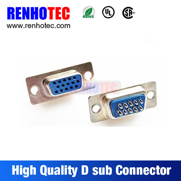 HDDB15 HD15 VGA Male Solder Connector 15 pin